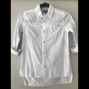Girls 7 for all mankind White button down